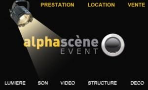 logo Alpha scène